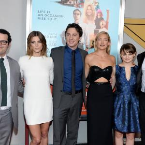 Kate Hudson, Zach Braff, Donald Faison, Josh Gad, Joey King, Ashley Greene