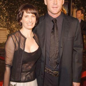 Gale Anne Hurd and Marton Csokas at event of AEligon Flux 2005