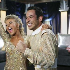 Helio Castroneves, Julianne Hough