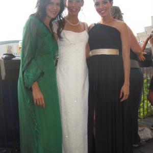 Patricia Velasquez Danay Garcia and Arlette Torres at the Montreal Film Festival 2011