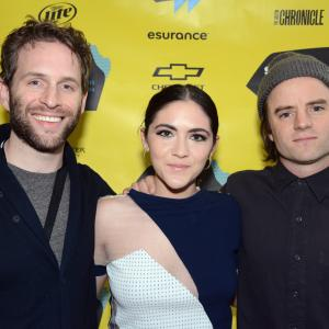 Michael Johnson, Glenn Howerton, Isabelle Fuhrman