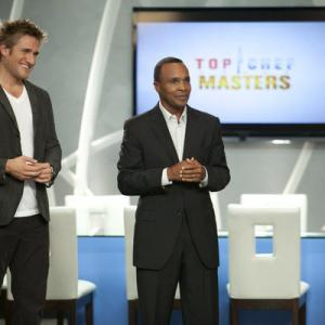 Still of Sugar Ray Leonard and Curtis Stone in Top Chef Masters (2009)