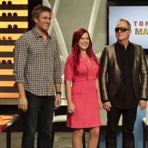 Still of Kate Pierson, Fred Schneider and Curtis Stone in Top Chef Masters (2009)