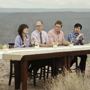 Still of James Oseland, Ruth Reichl, Francis Lam and Curtis Stone in Top Chef Masters (2009)