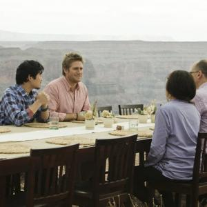 Still of James Oseland, Francis Lam and Curtis Stone in Top Chef Masters (2009)