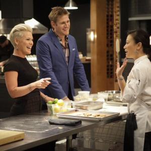 Still of Curtis Stone, Shirley Chung and Alecia Moore in Top Chef Duels (2014)