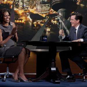 Stephen Colbert, Michelle Obama