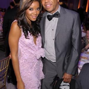 Russell Simmons, Angela Simmons