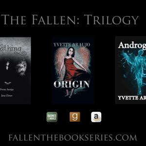Author Yvette's newest series of books. The next in the series is now available in stores near you.