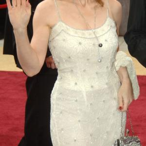 Red carpet arrival of Vicki Roberts at the 2006 Academy Awards at the Kodak Theatre Hollywood California Ms Roberts jewelry was on loan from Chopard