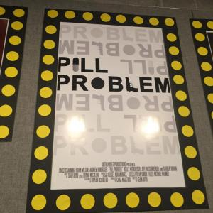 Pill Problem Poster (director Sean Boyd)