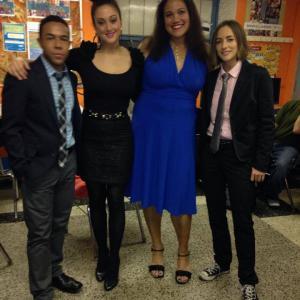 Millie and The Lords Cast: Cedric Leiba Jr, Maria DiDomenico, Jessica Carmona, Carolina Ravassa