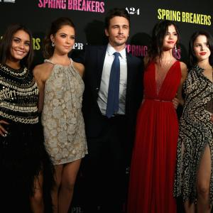 James Franco, Vanessa Hudgens, Selena Gomez, Ashley Benson, Rachel Korine