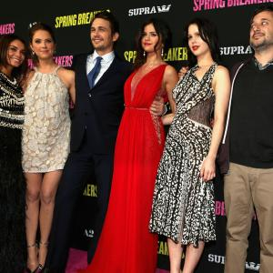 Harmony Korine, James Franco, Vanessa Hudgens, Selena Gomez, Ashley Benson, Rachel Korine