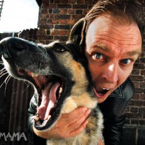 David Ross Paterson promo shot for The Dog Logs at La Mama