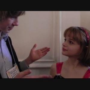 Joey King qv and Joey Luthman qv at the red carpet of the Young Artists Awards 2011