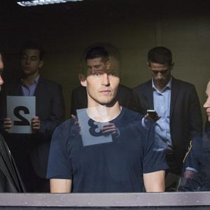 Still of Donnie Wahlberg, Will Estes and Vanessa Ray in Blue Bloods (2010)