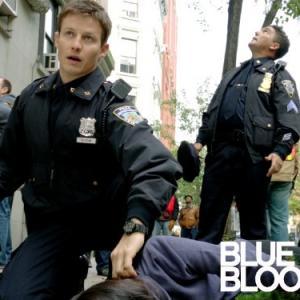 Still of Will Estes and Nicholas Turturro in Blue Bloods (2010)