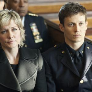 Still of Amy Carlson and Will Estes in Blue Bloods (2010)