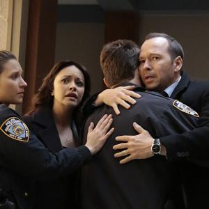 Donnie Wahlberg, Will Estes, Marisa Ramirez and Vanessa Ray in Blue Bloods (2010)