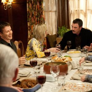 Still of Tom Selleck, Bridget Moynahan, Amy Carlson, Will Estes, Sami Gayle and Andrew Terraciano in Blue Bloods (2010)