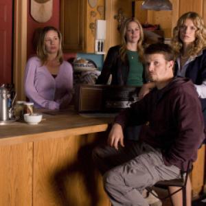 Still of Mary McCormack, Will Estes, Liza Weil and Ellen Hollman in In Plain Sight (2008)