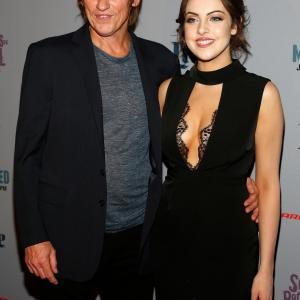 Denis Leary, Elizabeth Gillies