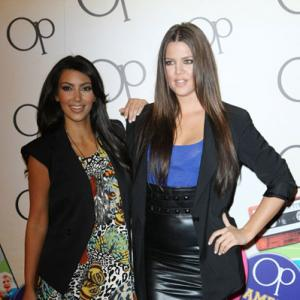 Kim Kardashian West and Khlo Kardashian