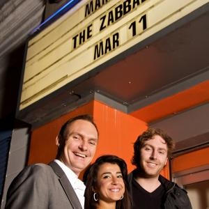 Tyrone WalkerHebborn Engi Wassef  Will Borthwick at Marina of the Zabaleen UK Premiere