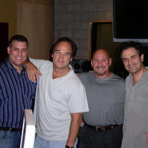 Director Michael Attardi Jim Belushi Exeuctive Producer Joseph Anselmo and Musical Producer Dani Donadi
