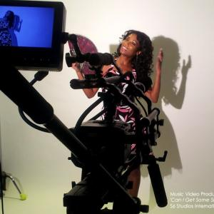 Dorly JeanLouis on set music video Can I Get Some Sleep Produced by S6 Studios International directed by Danny Snow 2014
