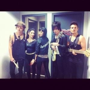 X Factor Australia with The Veronicas 2012