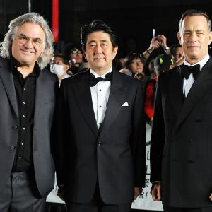 Tom Hanks, Paul Greengrass, Shinzo Abe