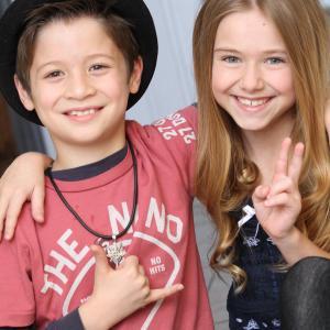 Davis Cleveland and Madison Meyer