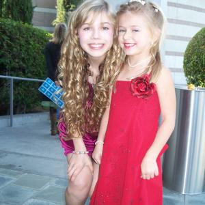 Jenette McCurdy and Madison Meyer at the 2008 Omni Awards
