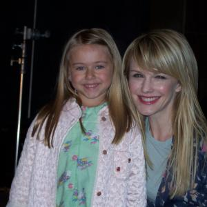Madison Meyer (Young Lilly Rush) and Kathryn Morris
