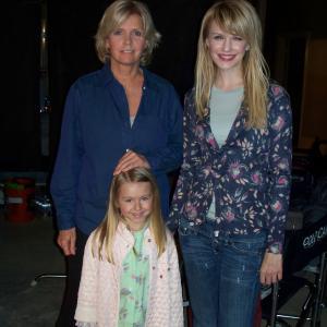 Meredith Baxter, Kathryn Morris & Madison Meyer