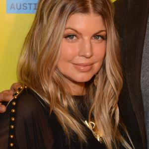 Fergie at event of Scenic Route (2013)