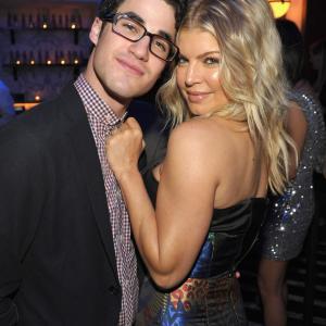 Fergie and Darren Criss