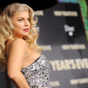 Fergie at event of Naujieji metai Niujorke (2011)