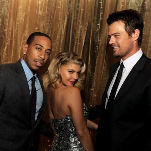 Fergie, Josh Duhamel and Ludacris at event of Naujieji metai Niujorke (2011)