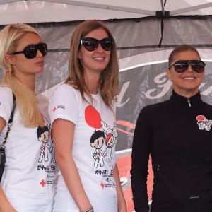 Fergie, Nicky Hilton and Paris Hilton