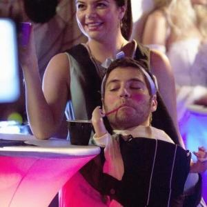 Still of Adam Pally and Casey Wilson in Happy Endings 2011