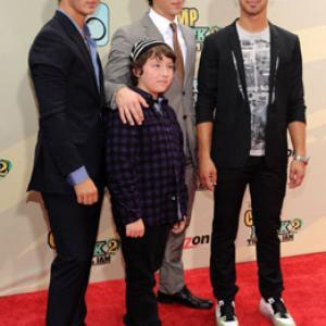 Kevin Jonas, Joe Jonas, Nick Jonas and Frankie Jonas at event of Camp Rock 2: The Final Jam (2010)