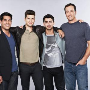 Still of Joe Jonas, Parker Young, Mike Catherwood and Seth Wescott in The Choice (2012)