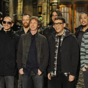 Dana Carvey, Fred Armisen, Chester Bennington, Rob Bourdon, Brad Delson, Joseph Hahn, Mike Shinoda