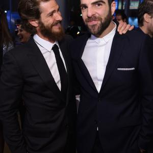 Zachary Quinto and Andrew Garfield