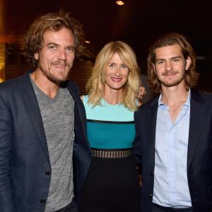 Laura Dern, Michael Shannon and Andrew Garfield at event of 99 Homes (2014)