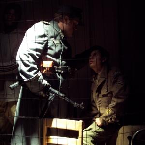 cesar aguirre with Michael h. cole in hells-end