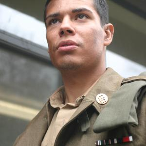cesar aguirre as Cpl. Mitchell
